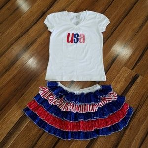 Patriotic outfit size 8